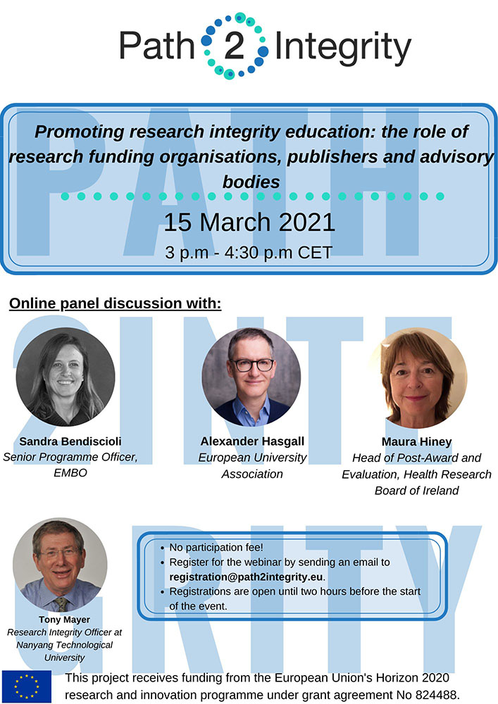 Path2Integrity Dialogue webinar 15.03.2021