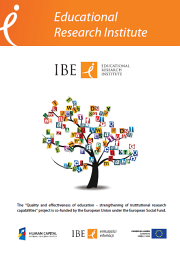 IBE brochure cover